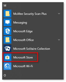Открыть Microsoft Store на нокиа люмия